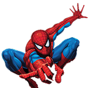 a photo of spiderman